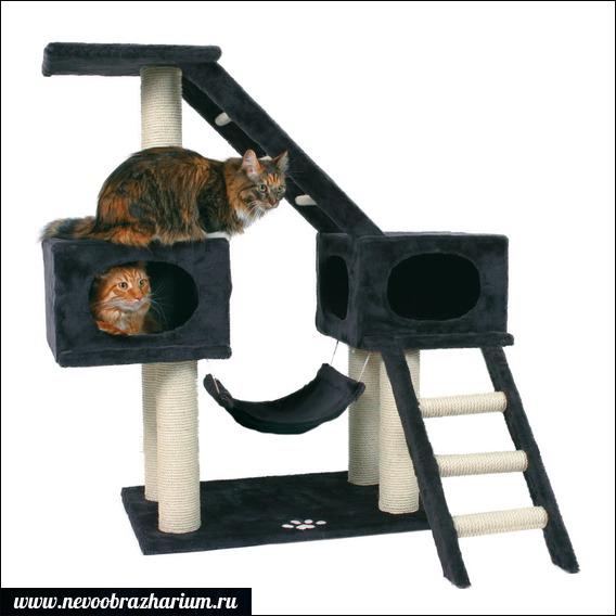 Домик для кошки своими руками: 70 фото-идей 42